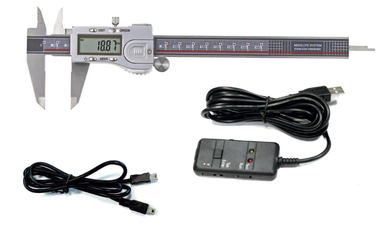 Digital-Messschieber + USB-Interface