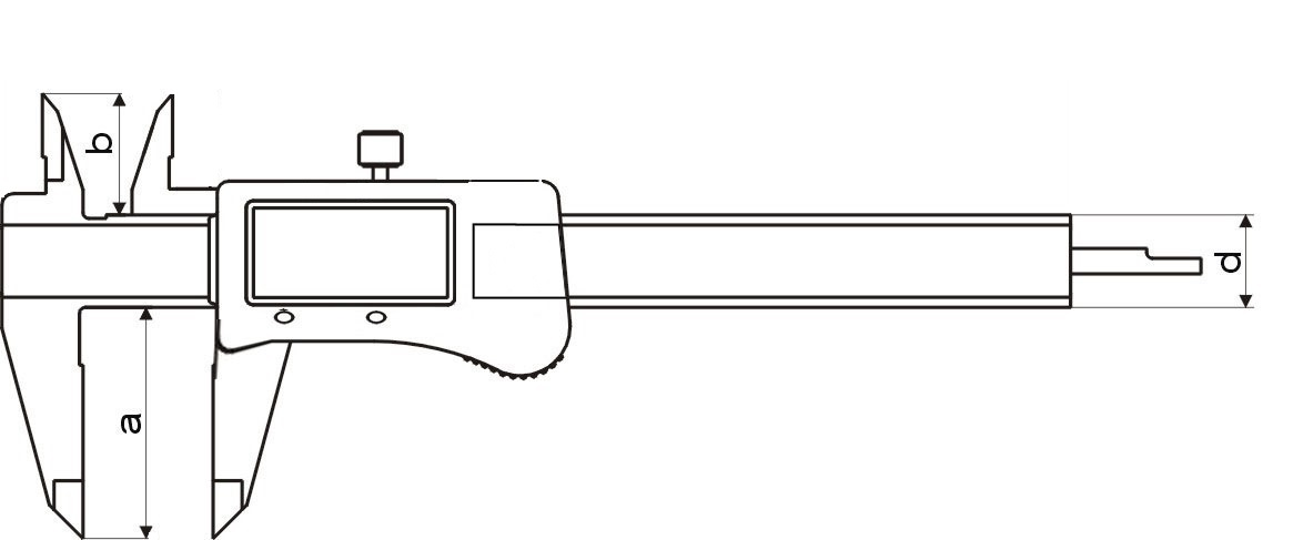Digital-Taschen-Messschieber - ABSOLUT-SYSTEM - TOLERANZ-LED - IP54 Schutz