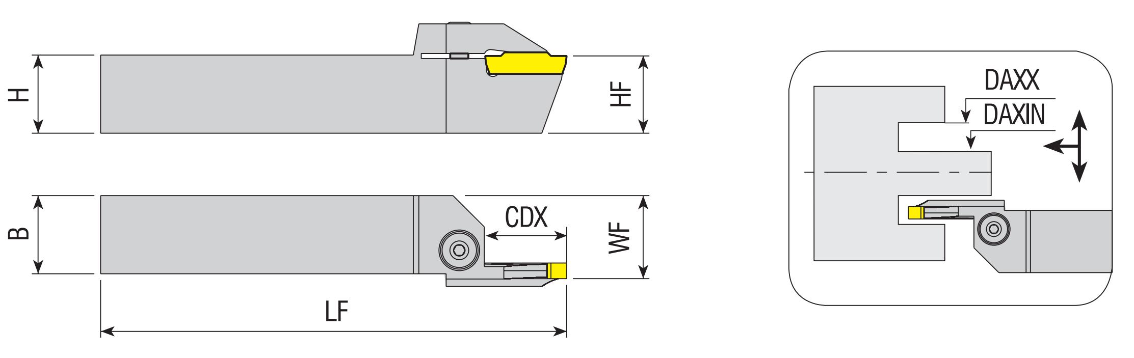 Axial - Stechhalter AAKT-K