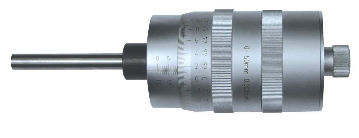 Einbau-Messschraube DIN 863 - Großtrommel - Ablesung 0,002 mm