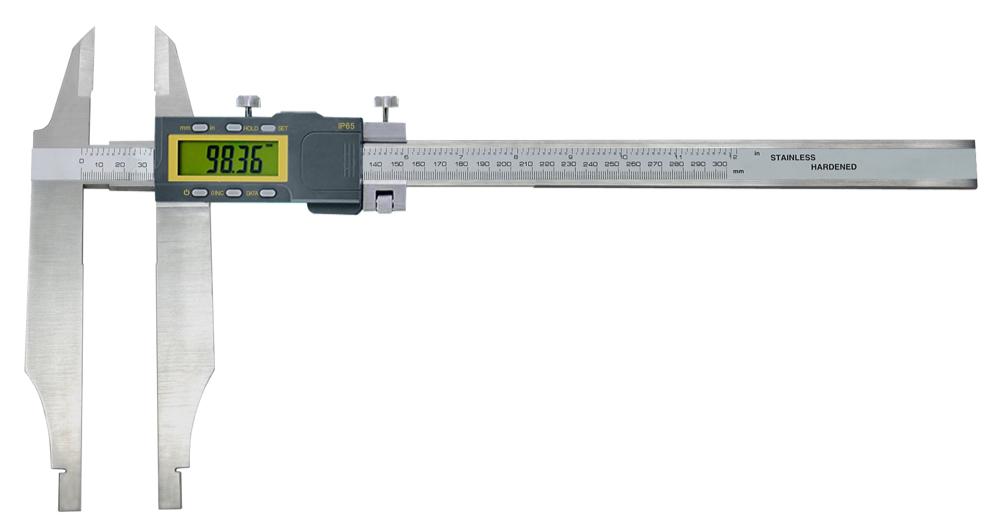 Digital-Werkstatt-Messschieber - mit Messerspitzen - IP65 Schutz
