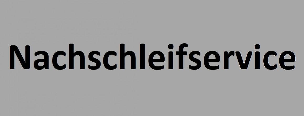 Nachschleifservice - HM Sägeblätter - Wechselzahn/Flachzahn