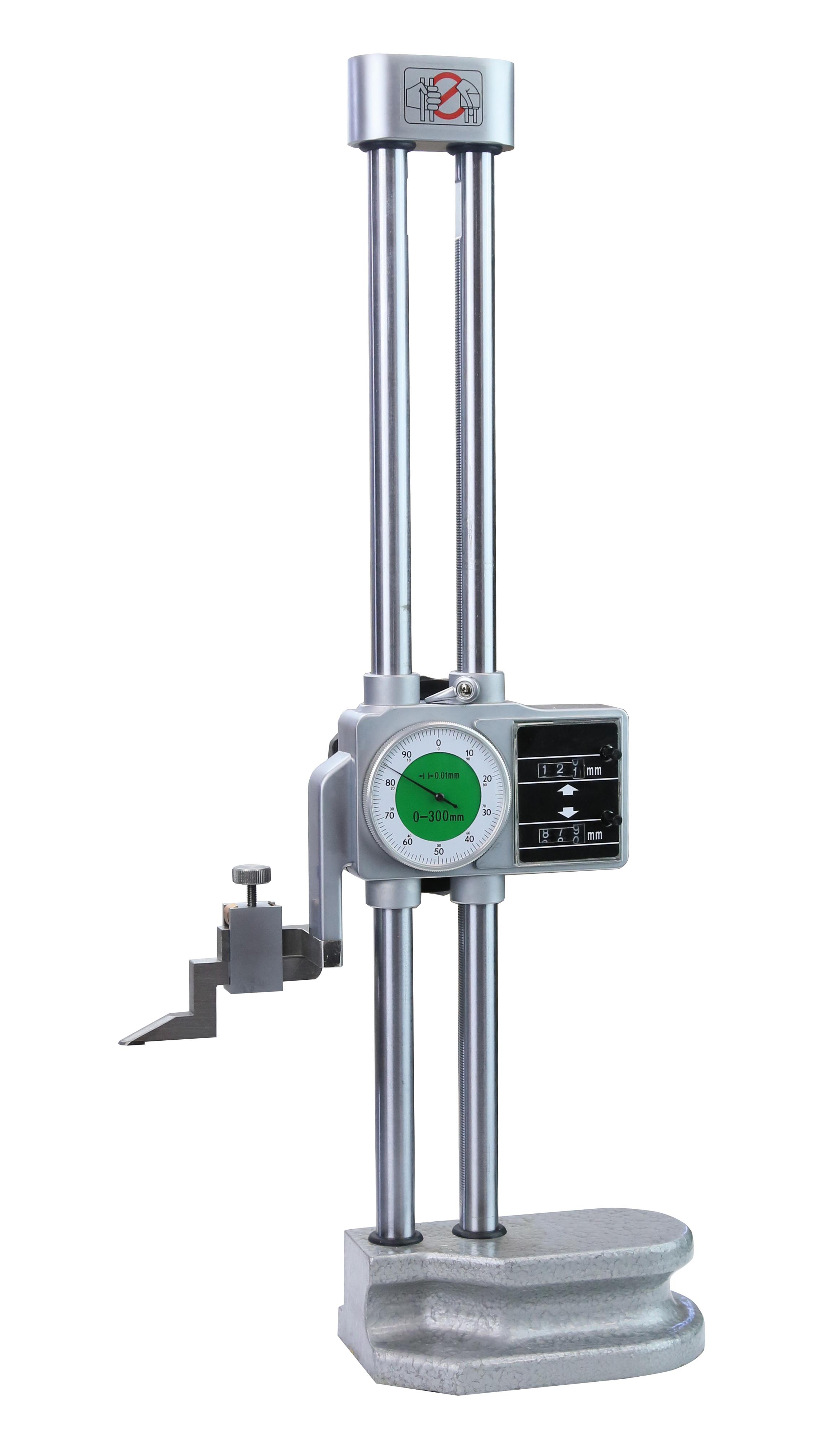 Höhenmess- und Anreißgerät mit Doppelsäulen