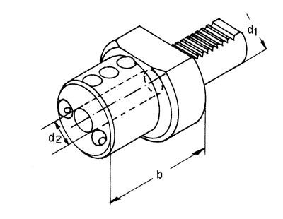 VDI Bohrstangenhalter - Typ E2 - IK/EK