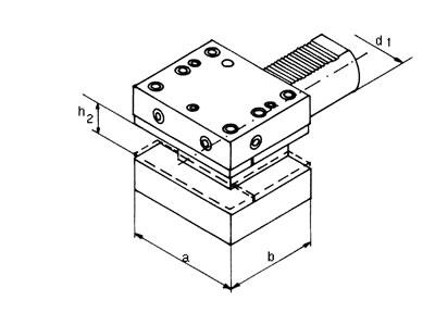 VDI Vierkant-Mehrfach-Aufnahme - Typ D1