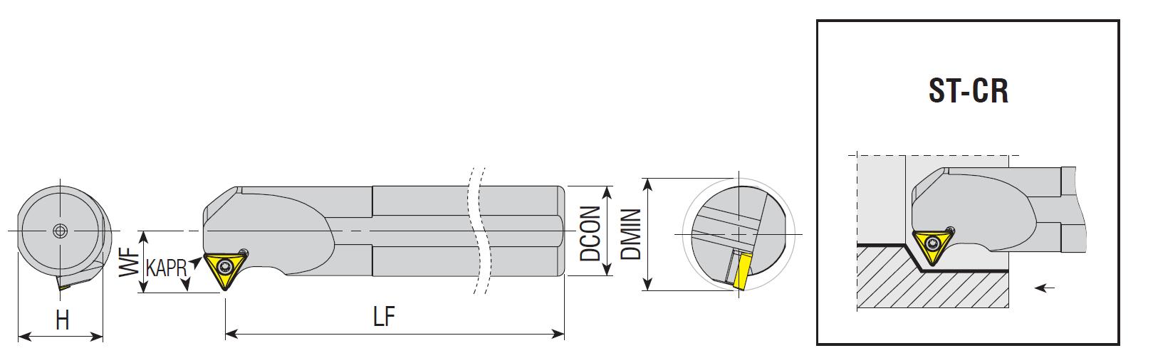 Bohrstangen ST-CR / ST-CL