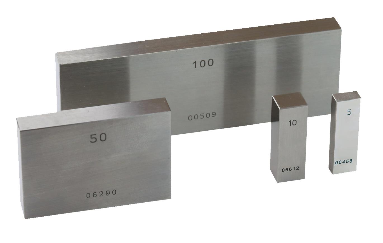 Einzel-Endmaße aus Stahl - bis 1,49 mm - DIN EN ISO 3650