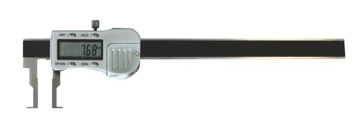 Digital-Innen-Nuten-Messschieber - Metallgehäuse