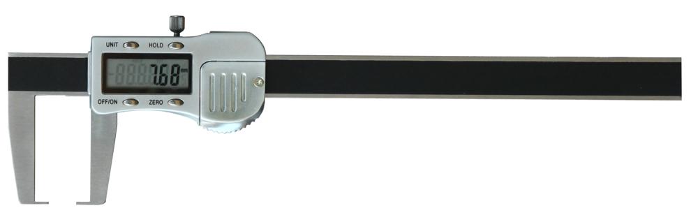 Digital-Außen-Nuten-Messschieber - Metallgehäuse