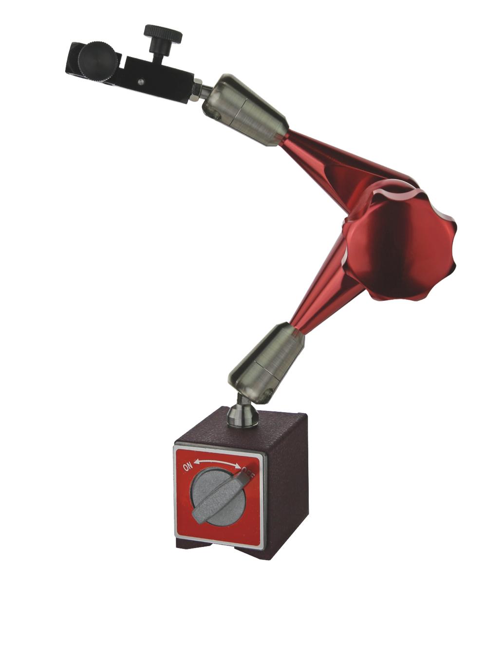Magnet-Messstativ mit Zentralklemmung