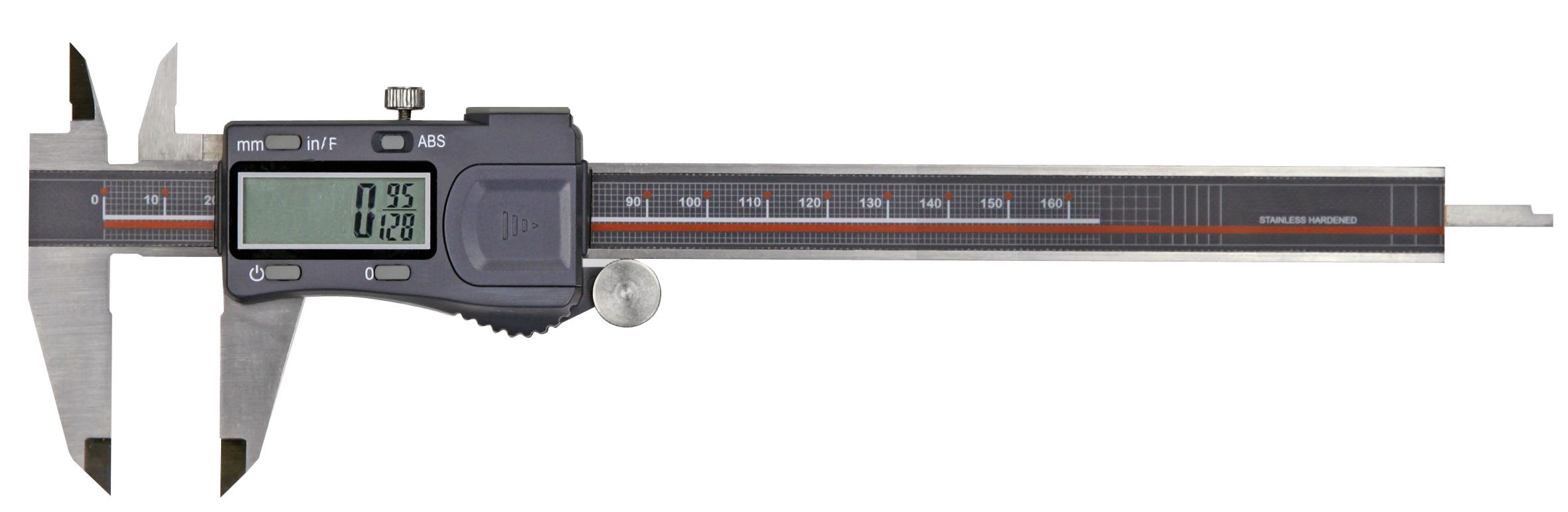 Digital-Taschen-Messschieber - mit Bruchanzeige