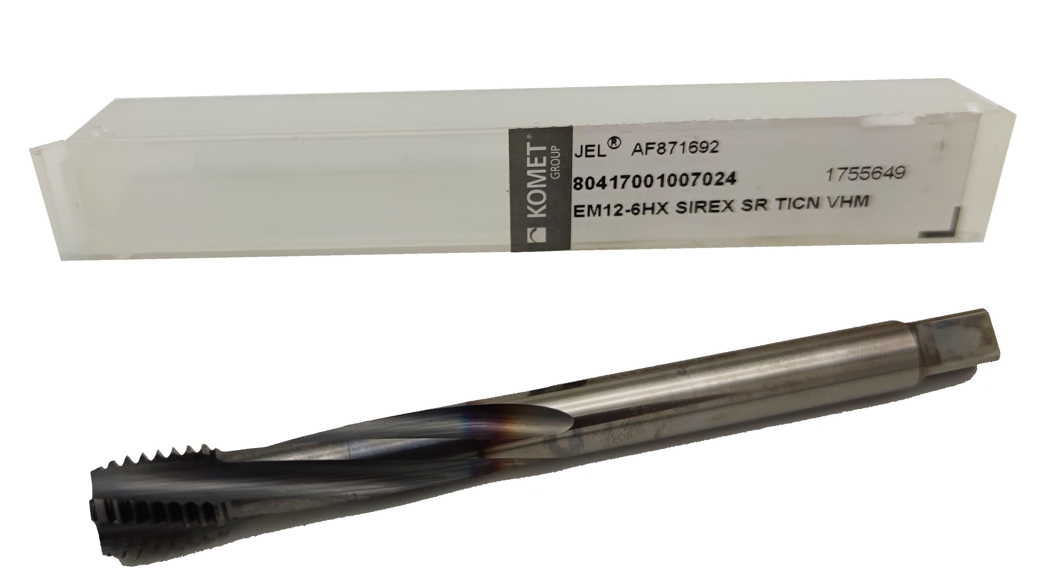 VHM Gewindebohrer M16 - 6HX TiCN - Metrisches Regelgewinde
