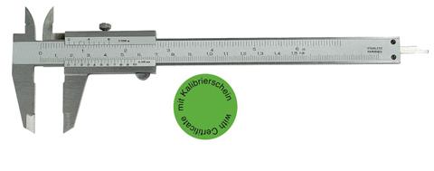 Taschen-Messschieber 150 mm - DIN 862 - Mit Kalibrierzertifikat