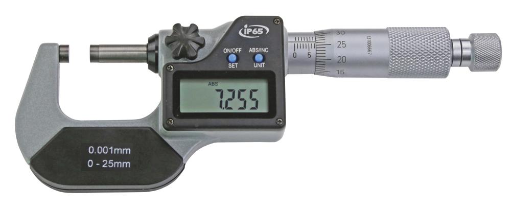 Digital-Bügelmessschrauben DIN 863 - IP 65