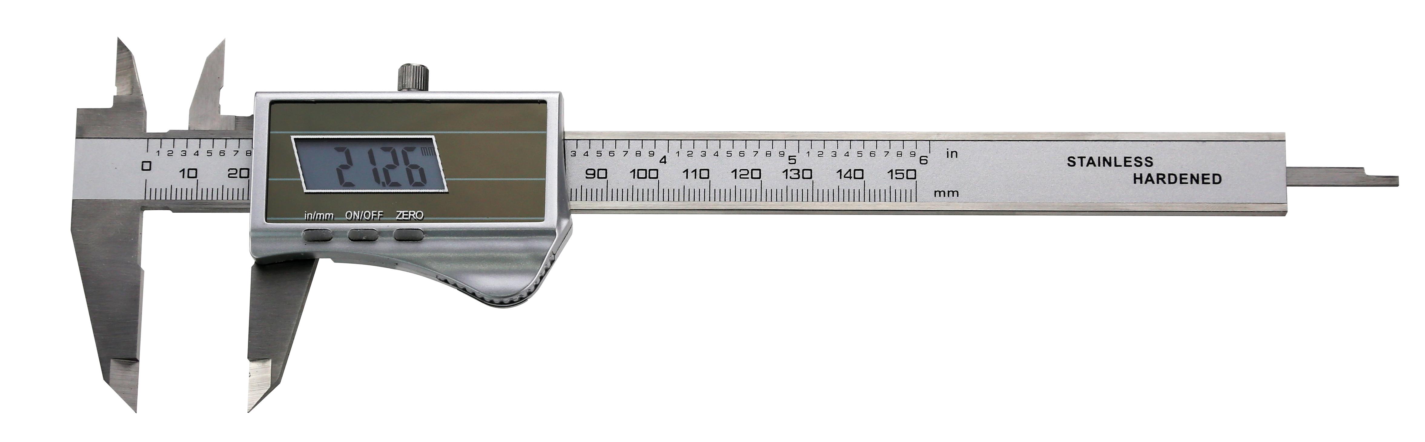 Digital-Taschen-Messschieber - Solarzelle