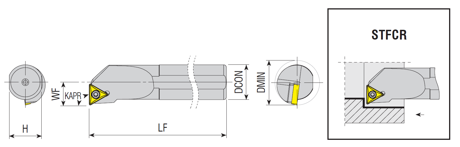 Bohrstangen STFCR / STFCL
