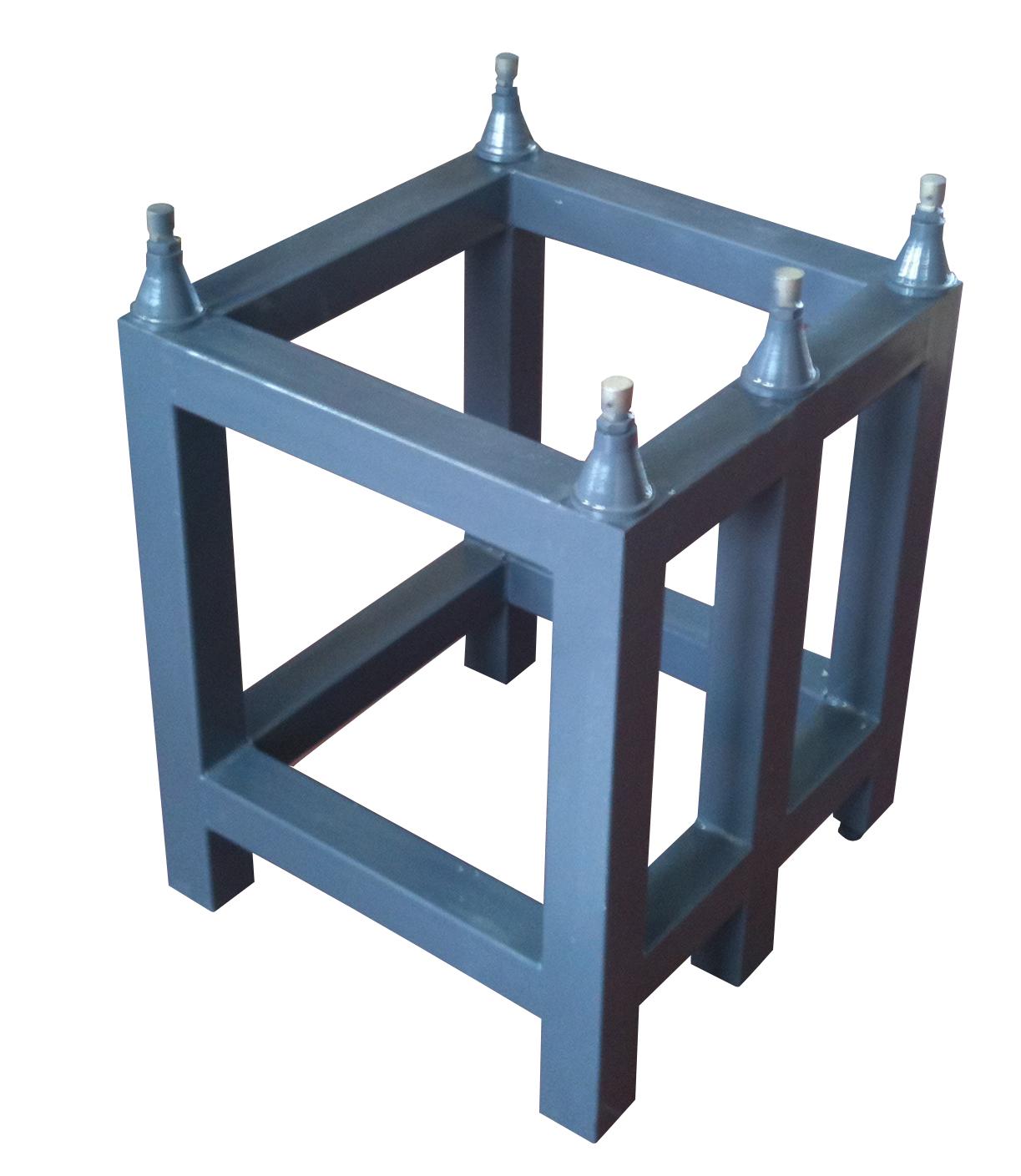 Untergestell für Mess- und Kontrollplatte aus Granit
