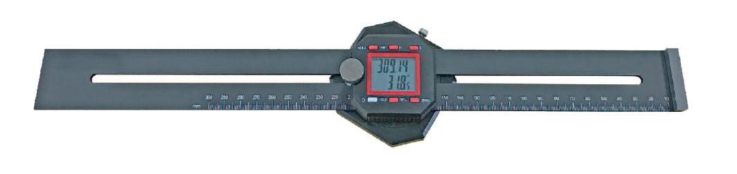 Digital-Streichmaß - mit Digital-Winkelmesser