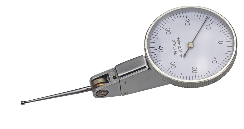 Fühlhebelmessgerät - langer Taster - horizontal
