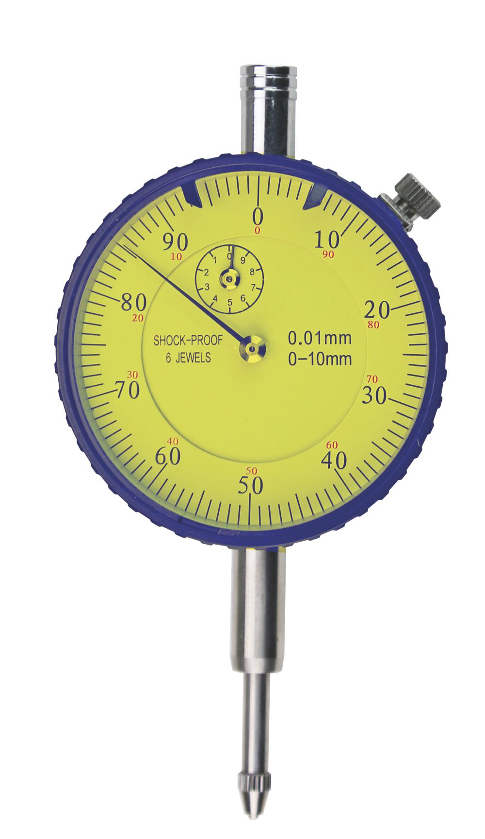 Messuhr - Stoßgeschützt - DIN 878 - 10 mm