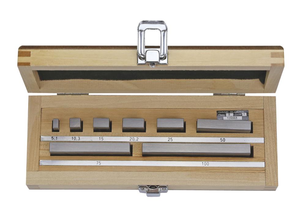 Endmaß-Prüfsatz für Mikrometer nach DIN 863