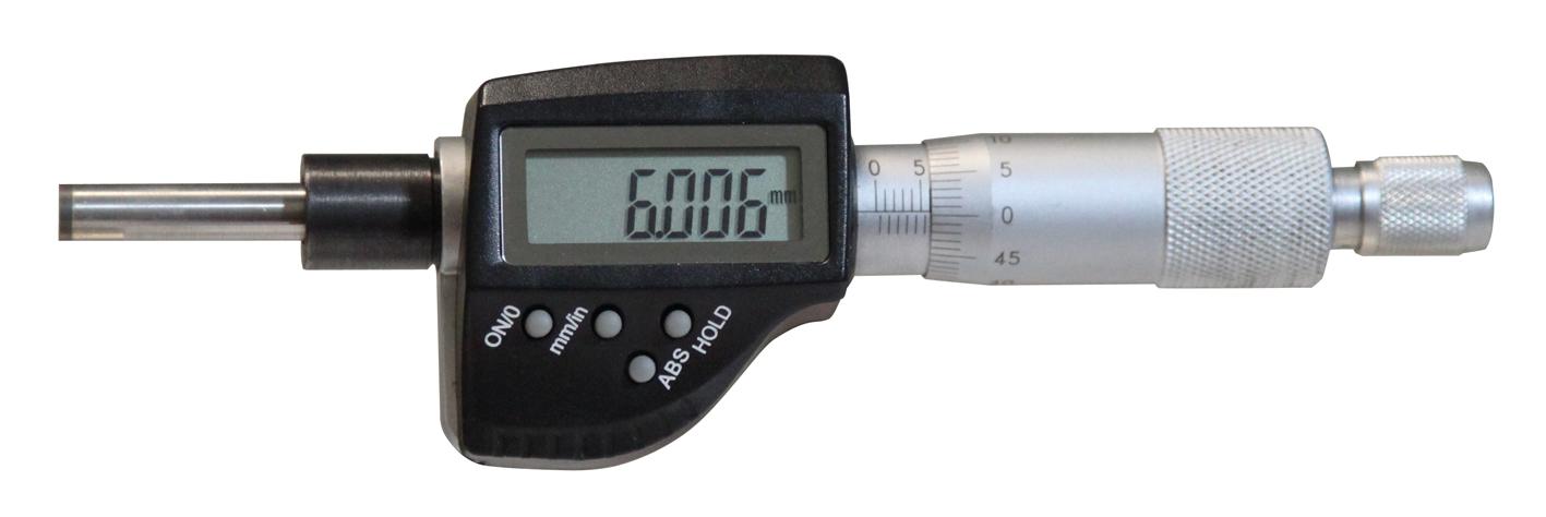 Digital-Einbau-Messschraube DIN 863 - 25 mm