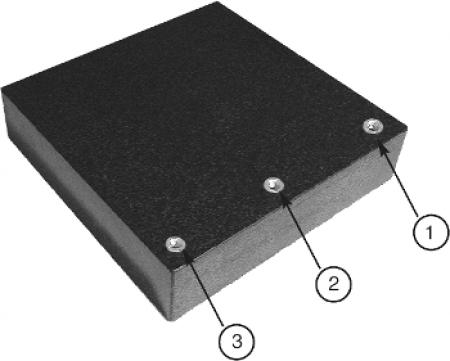 Mess- und Kontrollplatte aus Granit - M8-Gewinde