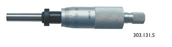 Einbau-Messschraube DIN 863 - 25 mm - Einbau-Schraubenmutter